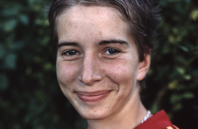 portrait féminin au 85 mm