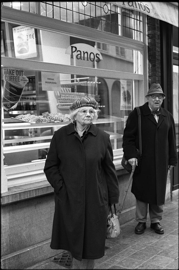 La photo du dimanche - street photography en Belgique et en noir et blanc