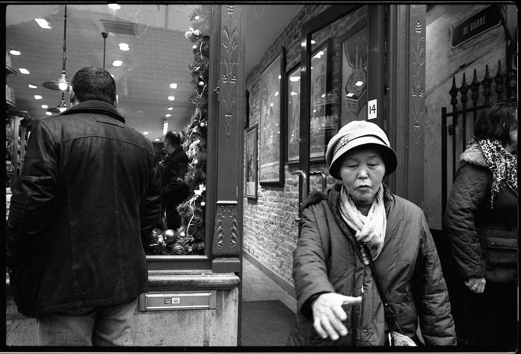 Photographie noir et blanc avec la Kodak TMAX 400