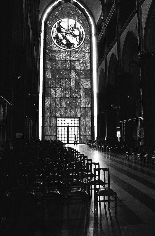 La photo du dimanche mur de lumière