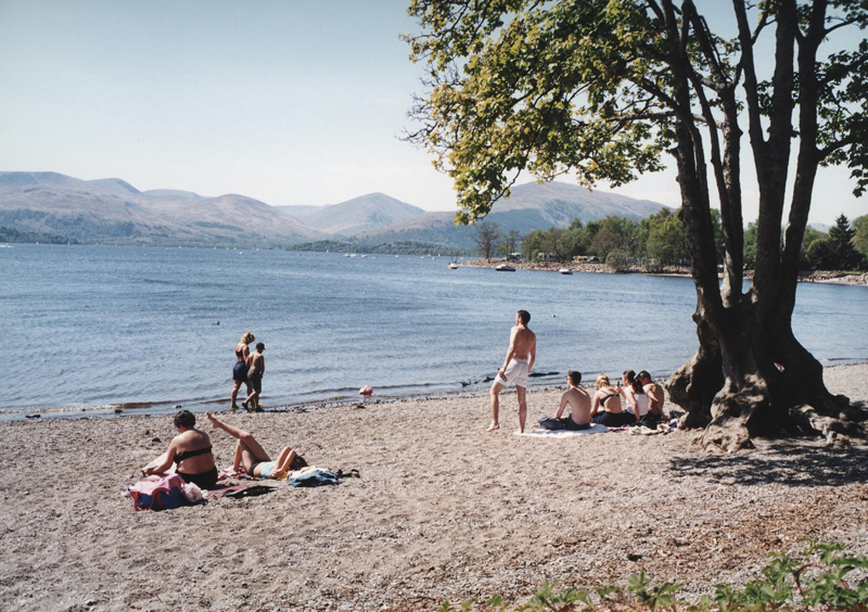 scan photo loch Lomond Ecosse