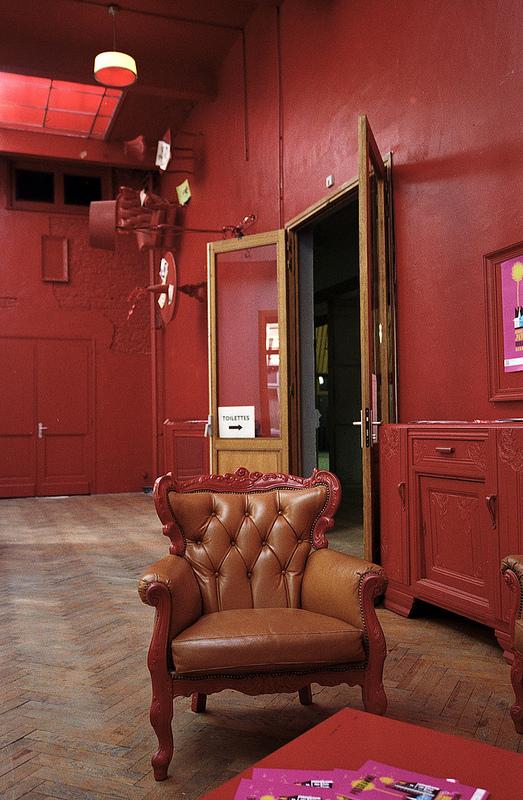 pellicule couleur Kodak Gold rouge scan