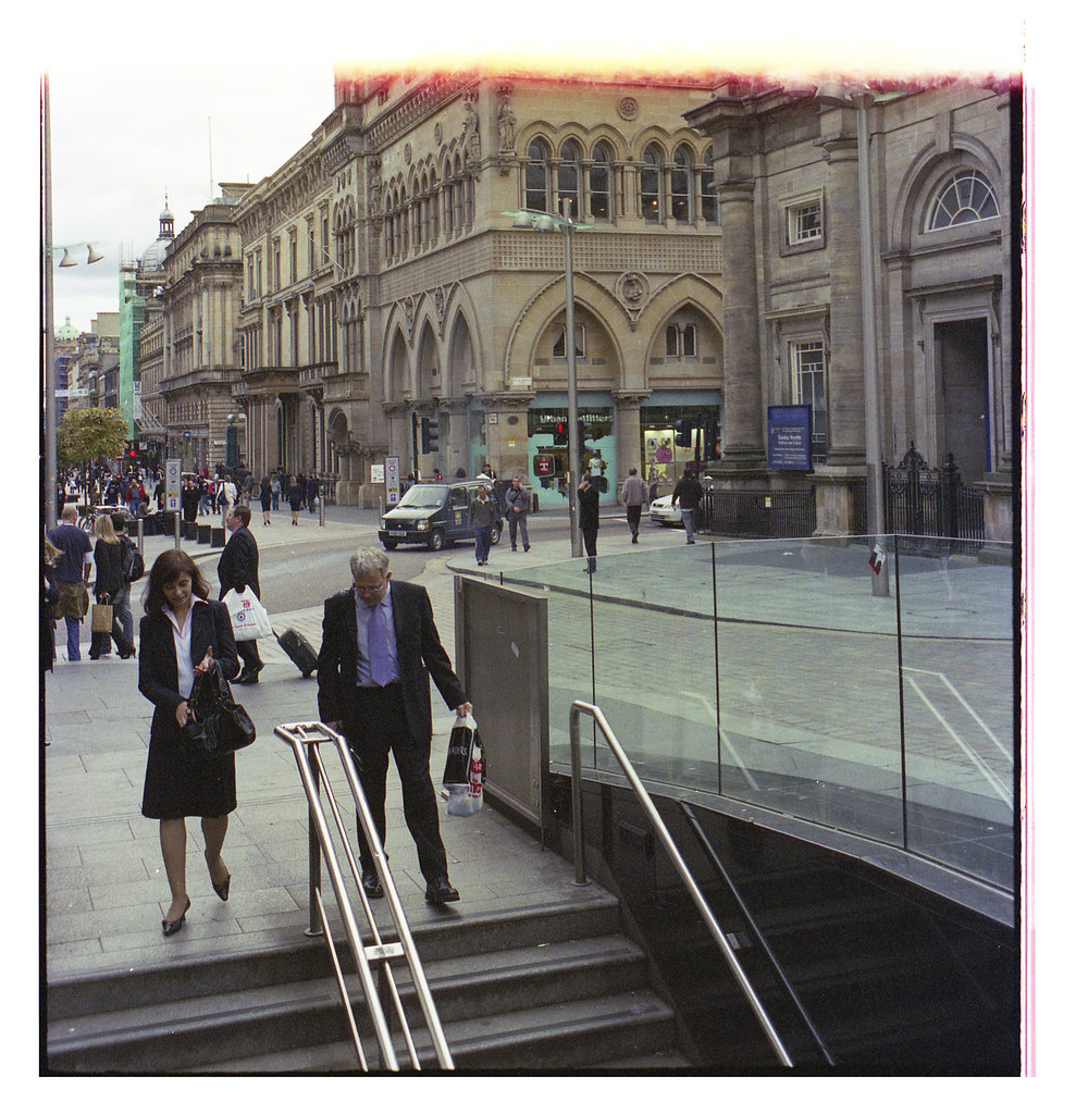 quoi photographier en argentique rue couleur pellicule Kodak Gold