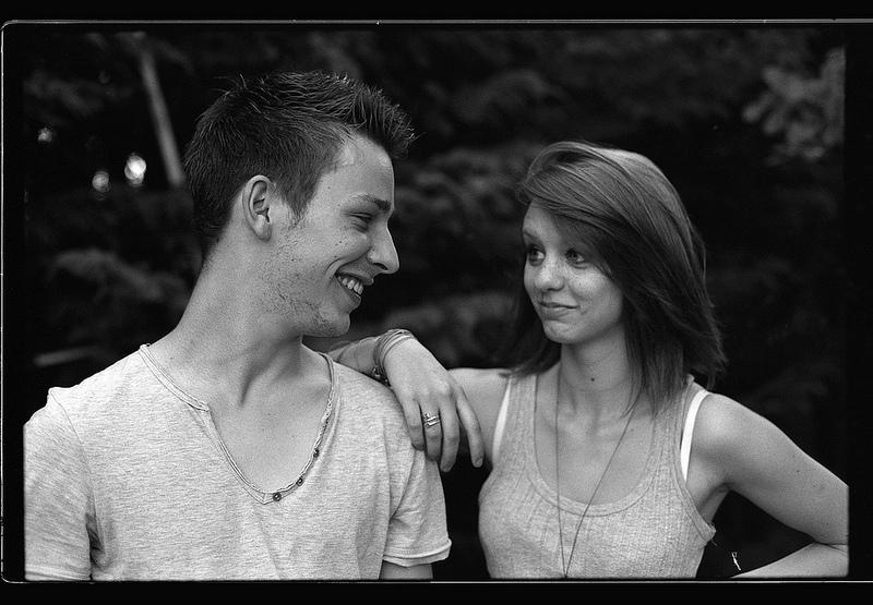photo jeune couple tmax 100 pas de calais