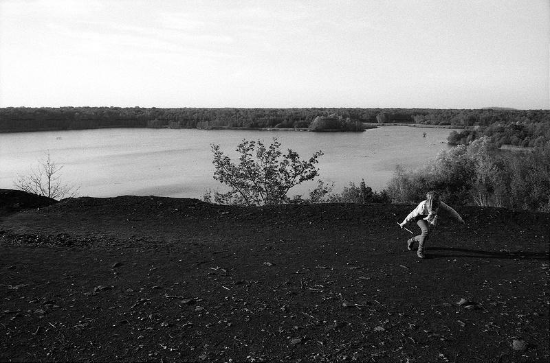 paysage noir charbon espace naturel du Nord