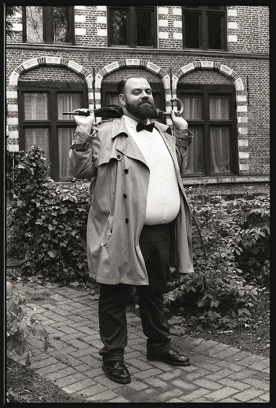 portrait gentleman noir et blanc classique Lille