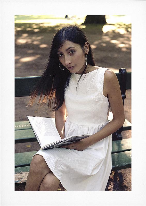 portrait couleur argentique modèle Sovannah Lille