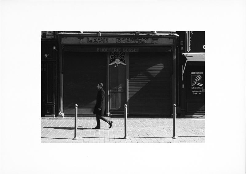 photographie argentique - tirage noir et blanc - photo de rue - Bijouterie