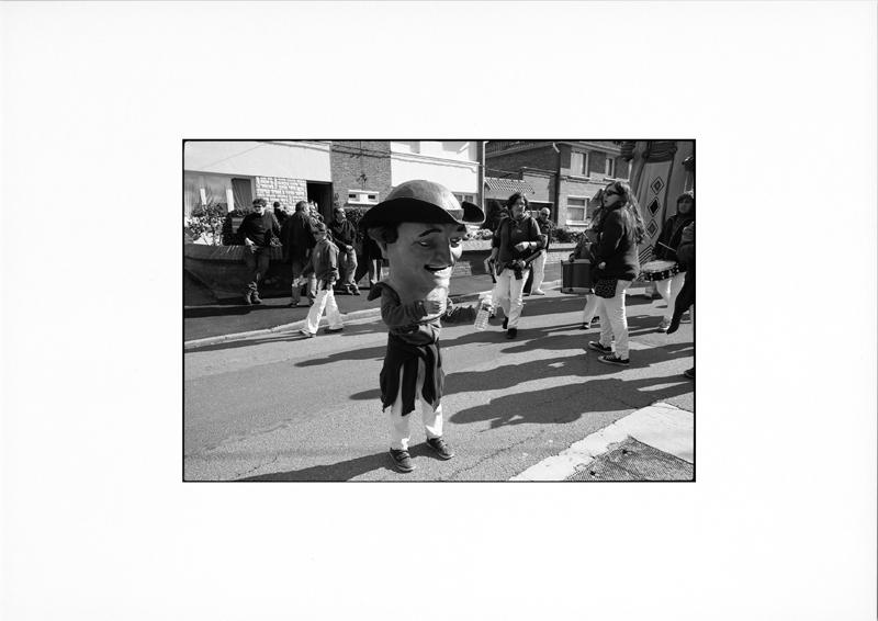 photographie argentique - tirage noir et blanc - Géant