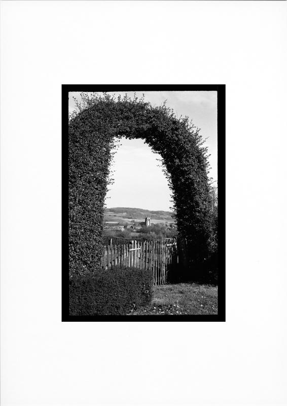 photographie argentique - tirage noir et blanc - Paysage de Flandre