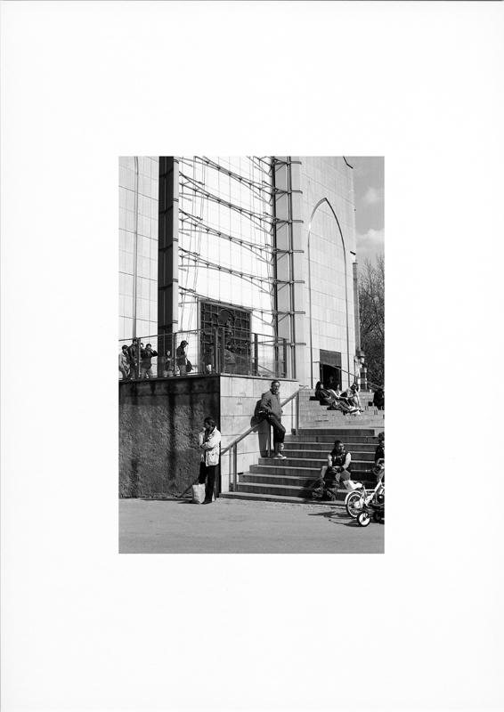 photographie argentique - tirage noir et blanc