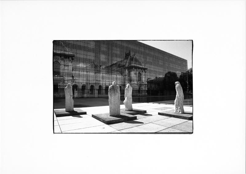 photographie argentique - tirage noir et blanc - Musée des beaux arts