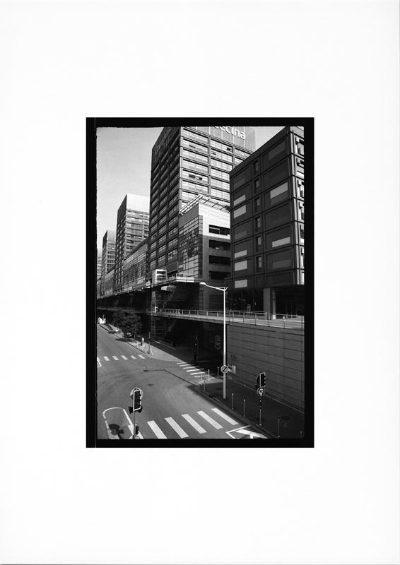 photographie argentique - tirage noir et blanc - Un dimanche matin