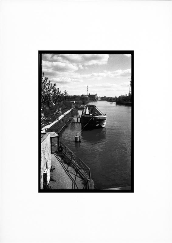 photographie argentique - tirage noir et blanc -