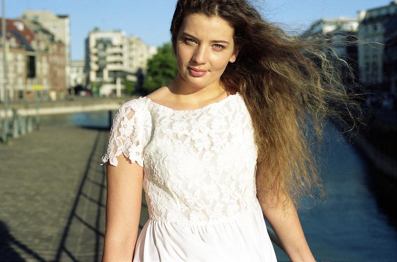 Flavia modèle book pro lingerie féminine Lille