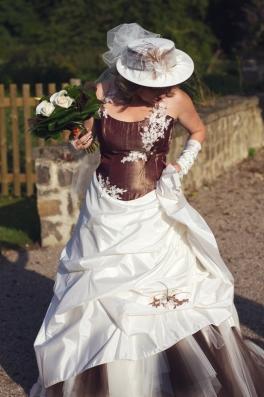 shooting session dressing code mariée tendance style robe
