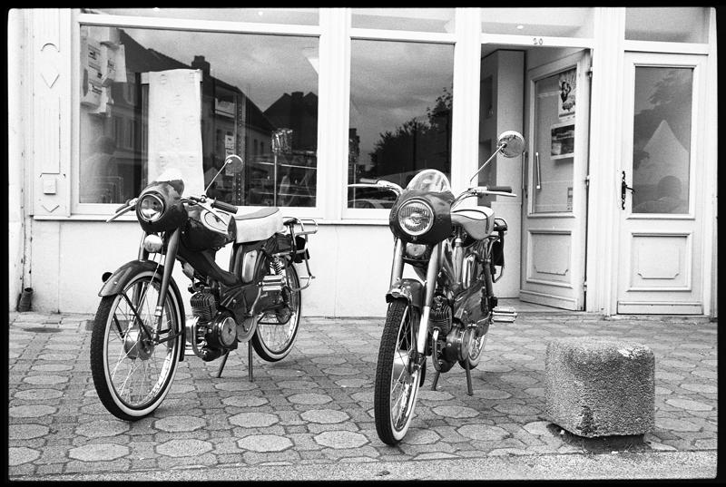 Canon EOS 3 dimanche photo rétro bikes vintage
