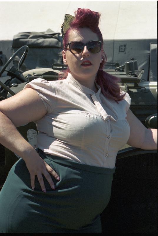 Kodak Portra 400 rétro militaire