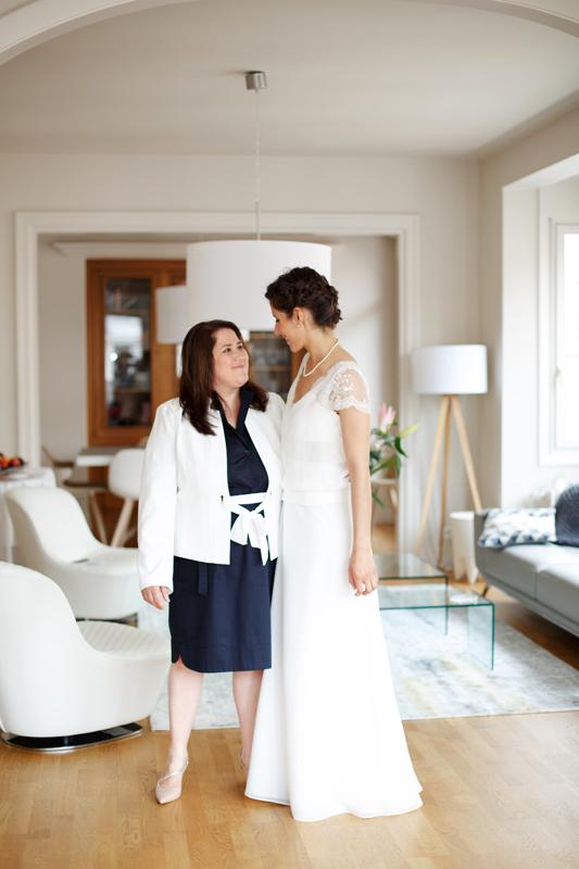 mariée style épuré mariage Lille longue robe