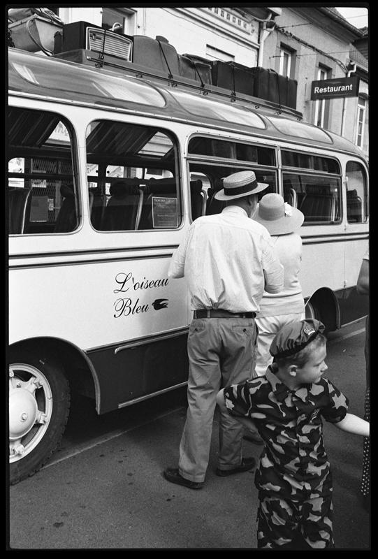 photo noir et blanc de rue style epoque pellicule Kodak Tri-X
