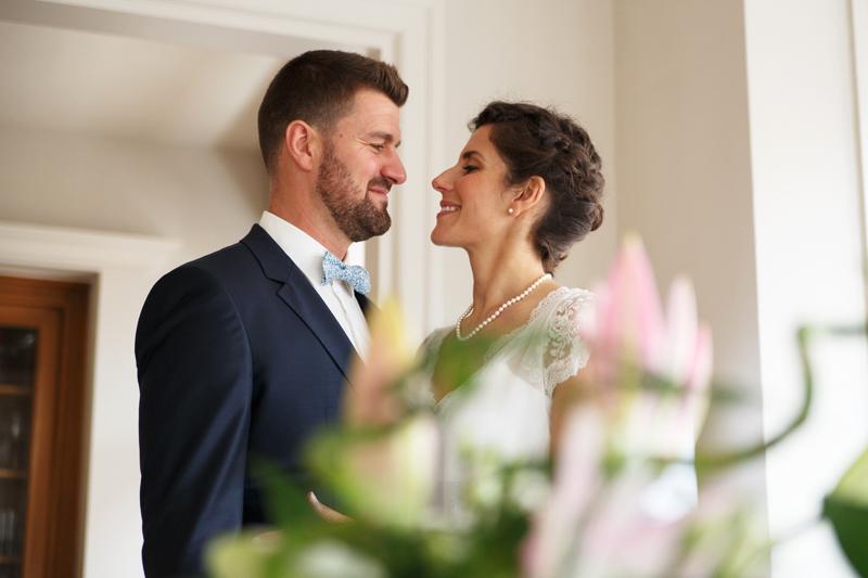premiers émois des futurs mariés