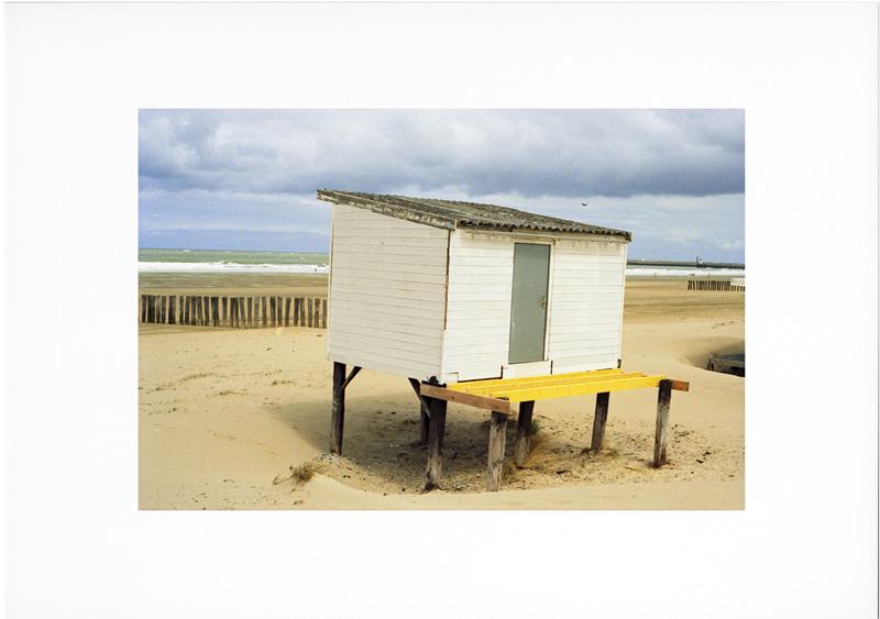photo couleur argentique plage au printemps