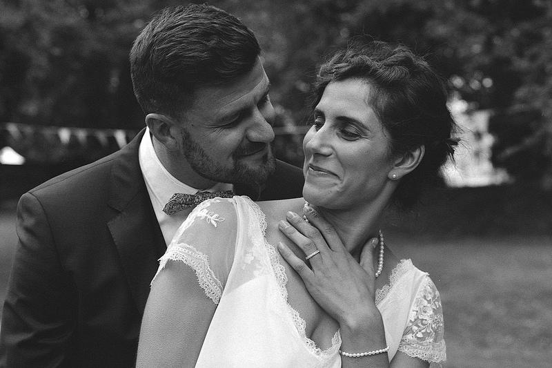 mariage en kodak pellicule noir et blanc