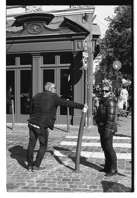 Quel négatif noir et blanc conseillé pour la photo de rue ?