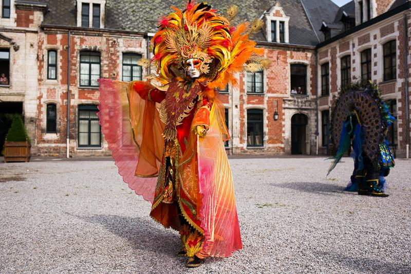 Costume carnaval de Venise Wambrechies