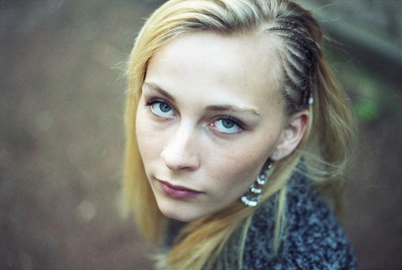 Portrait retro argentique Lille au 50 mm