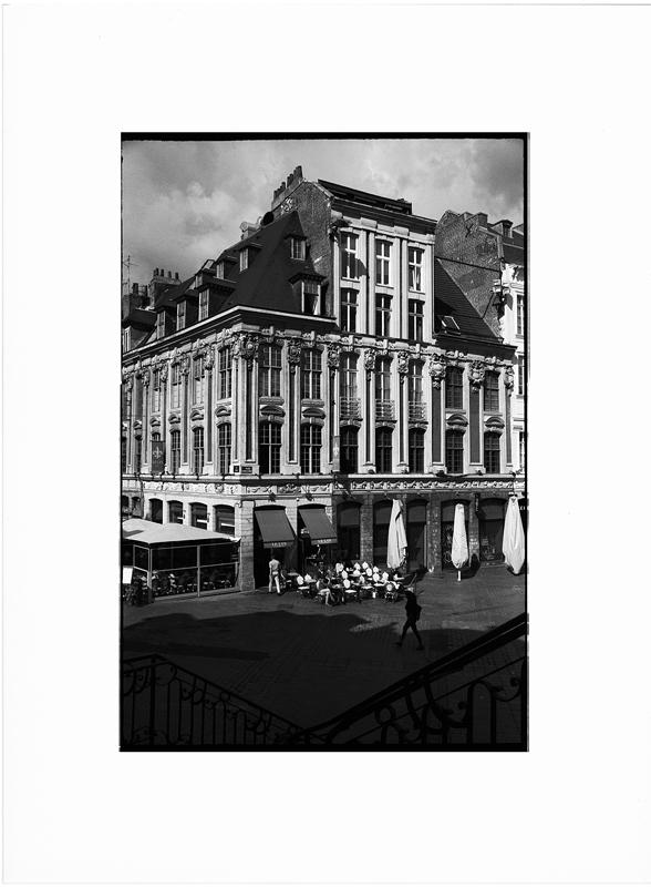 Tirage noir et blanc Vieux Lille