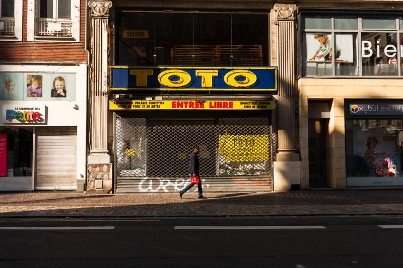Le travail de la couleur en photographie de rue