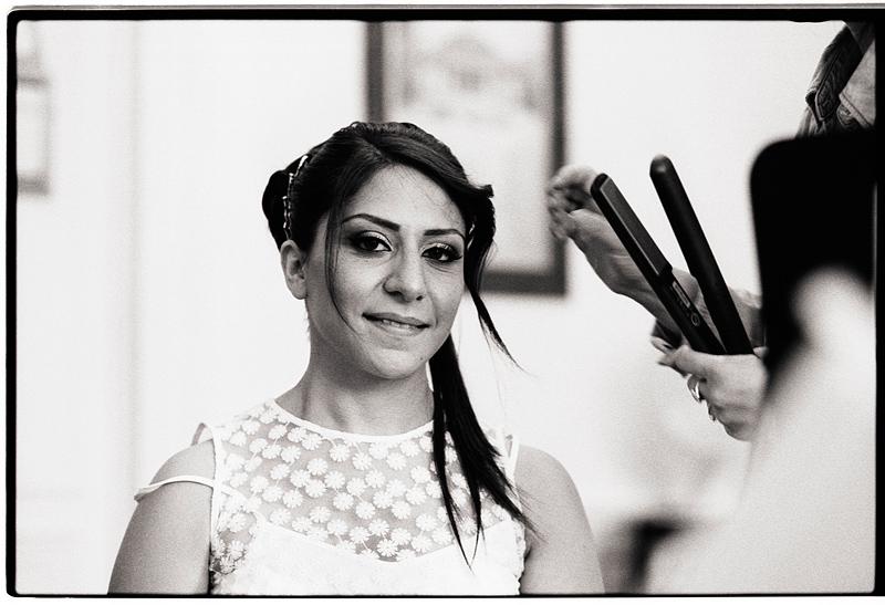 Photographe mariage prestation en noir et blanc Nord