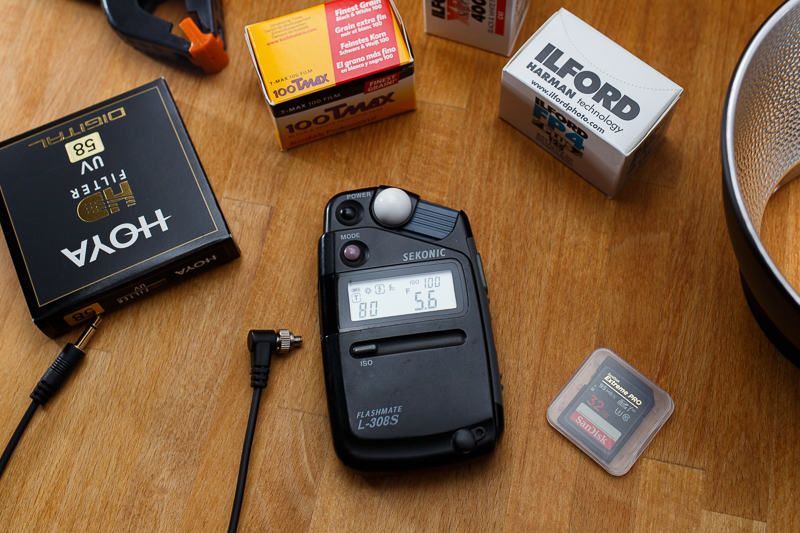 Offrir un flashmetre Sekonic pour Noël