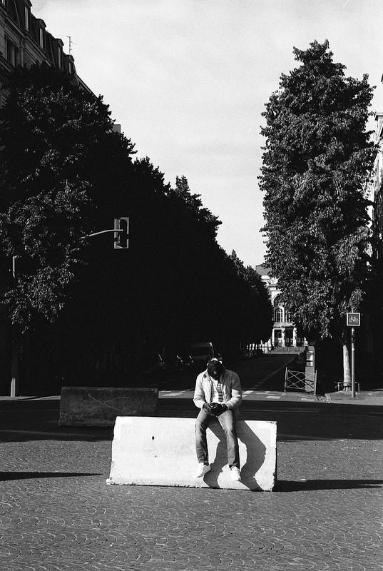 photo de rue argentique à lille
