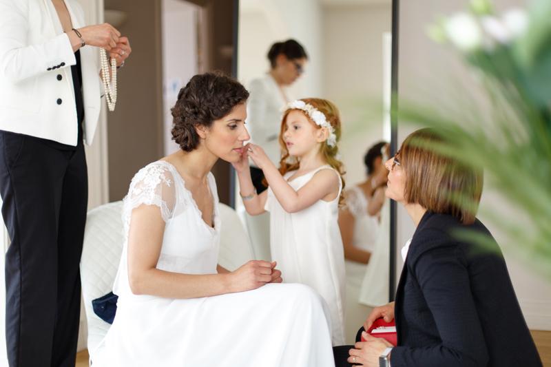 focale fixe Canon préparatifs mariée