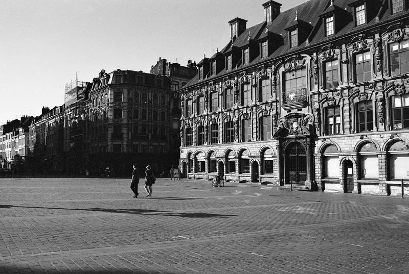 Ilford XP2 développement noir et blanc argentique Lille