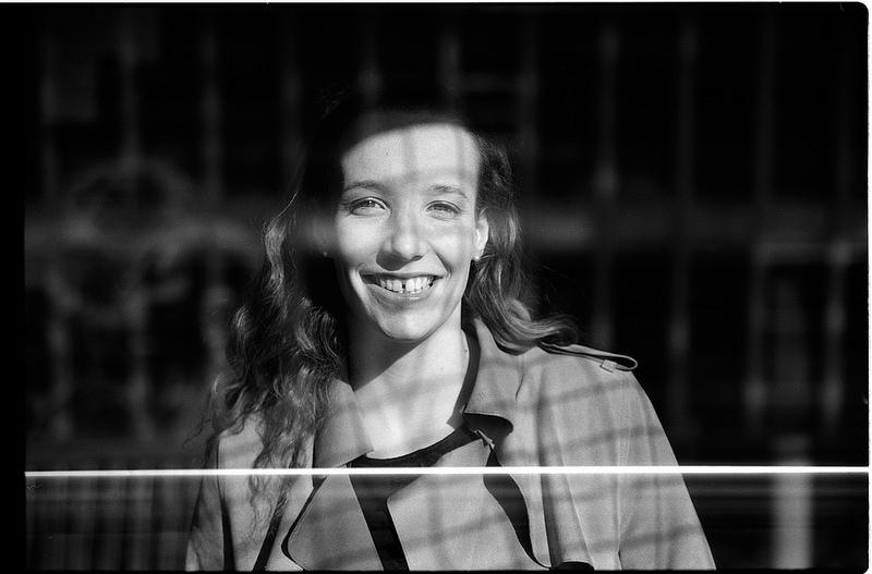 noir et blanc inspiration portrait argentique