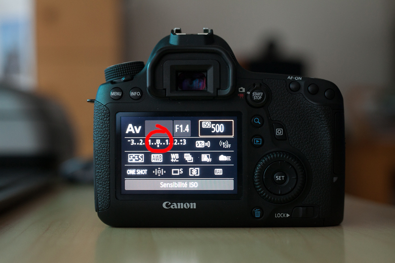 photographier en mode manuel avec Canon EOS