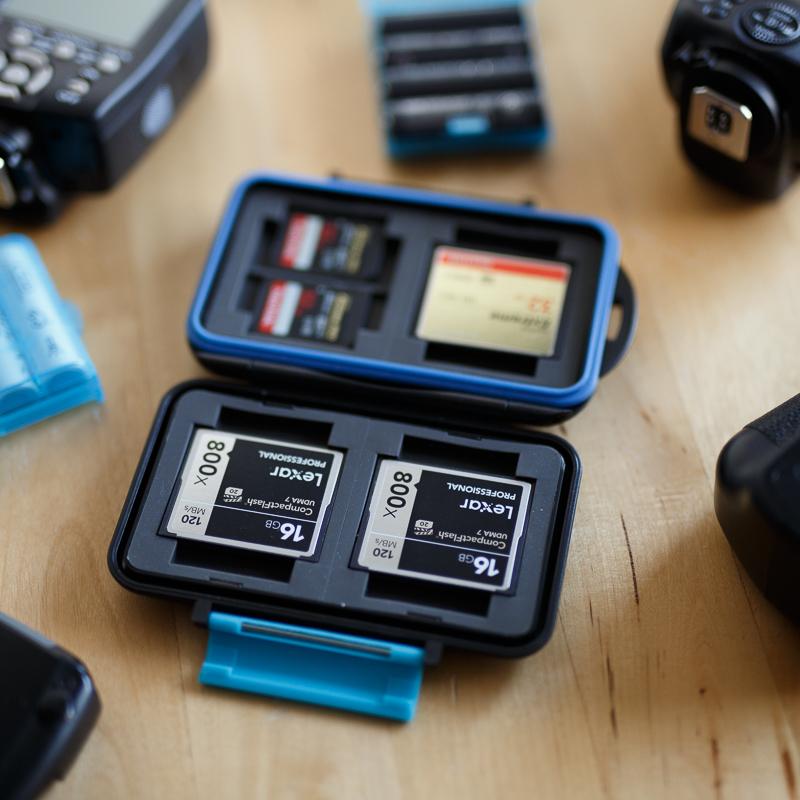 étui rigide pour cartes mémoires photographe exigeant