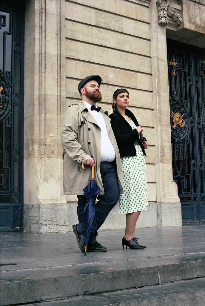 Style vintage photo avec modèles Lille en argentique. Photographe professionnel créateurs mode artisans