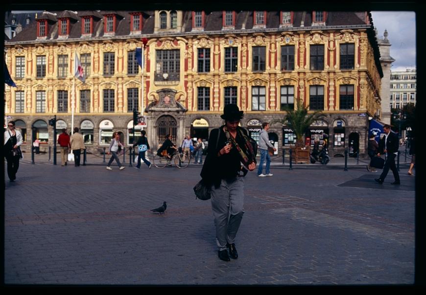 Fuji Sensia dans les rues de Lille