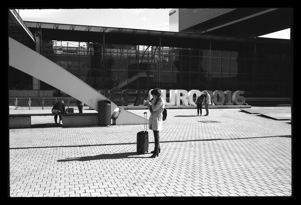 street photography et Rollei Retro 80s