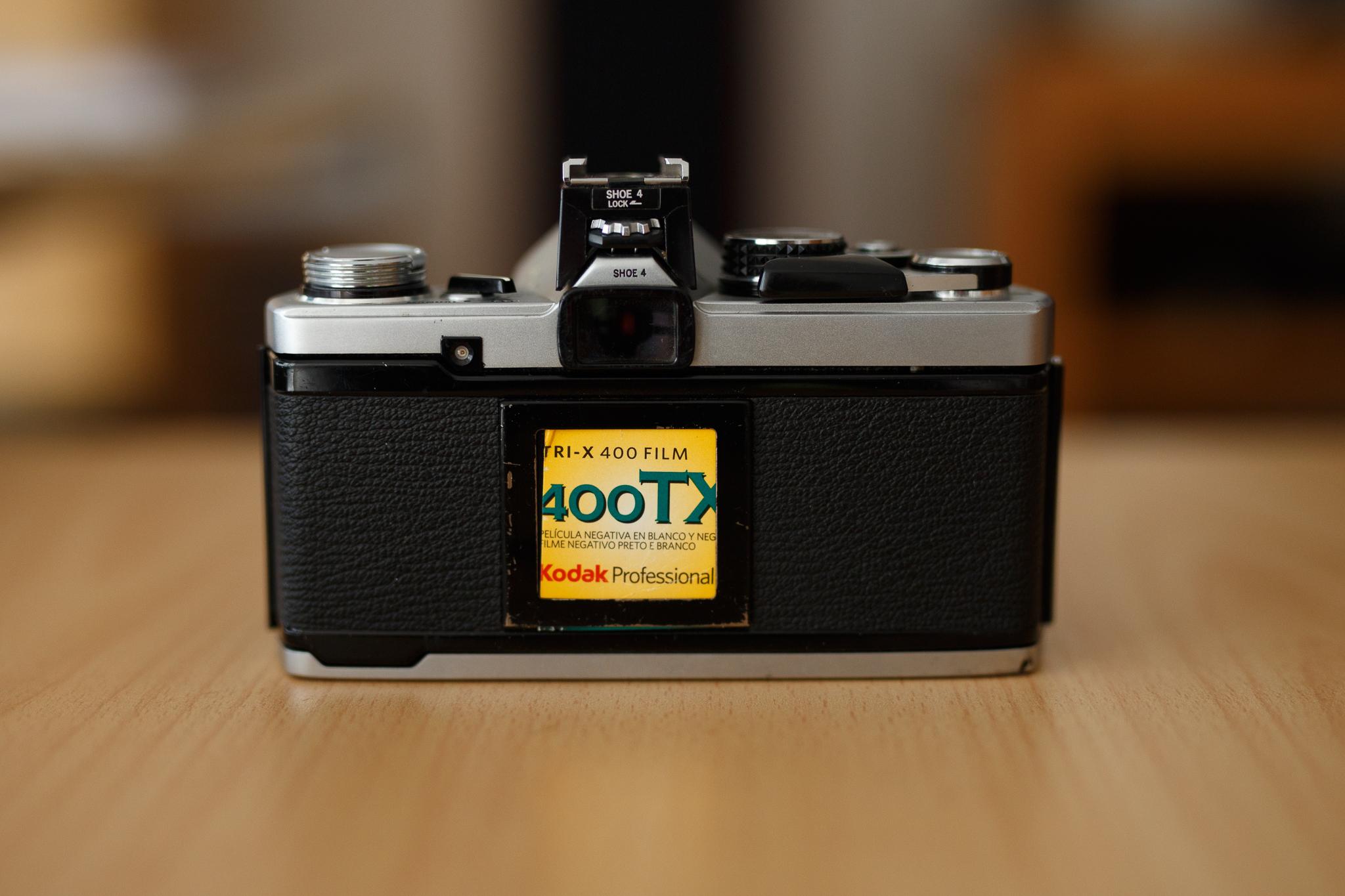 Olympus OM2n et Kodak 400TX