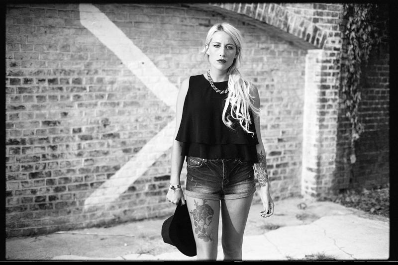 Séance photo en noir et blanc argentique à Lille