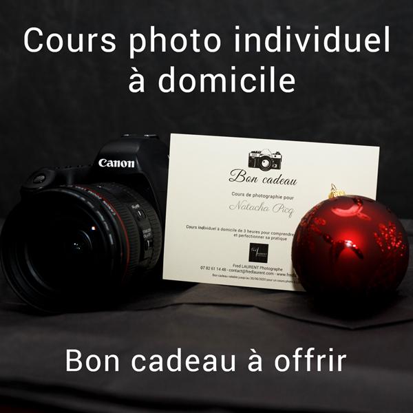 Bon cadeau cours photo à offrir