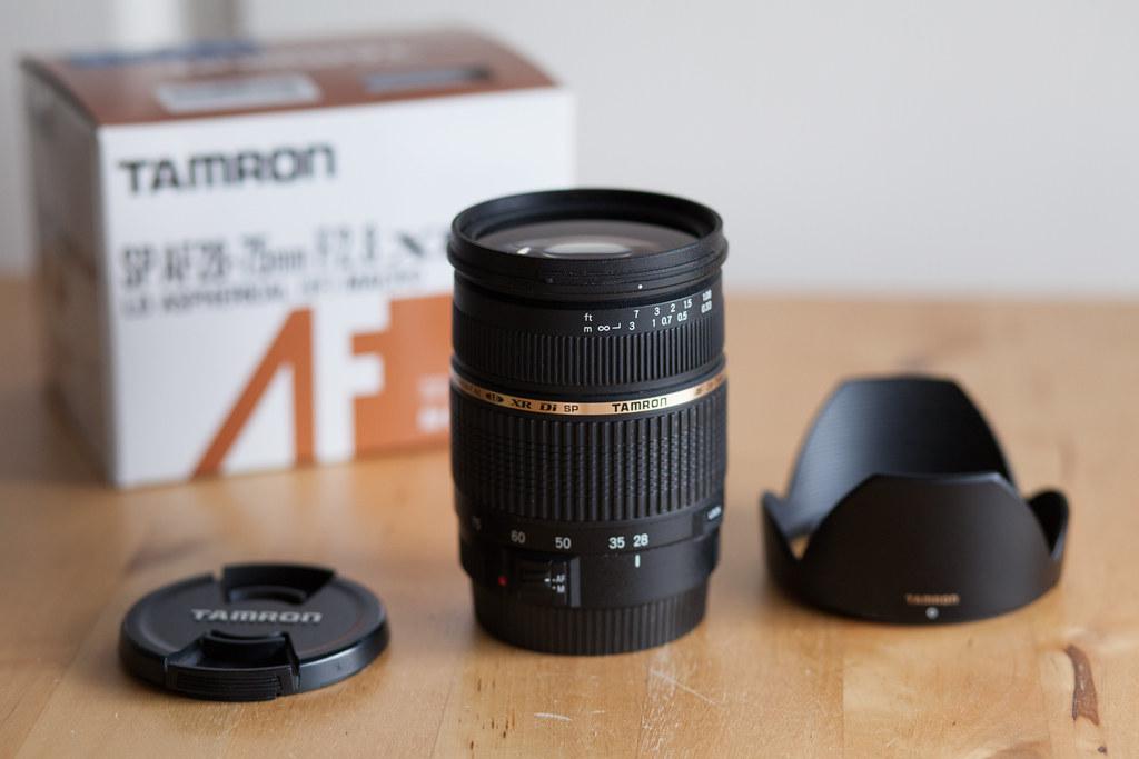 Objectif TAMRON 28-75 XR Di prix TIPA monture Canon EOS numérique et argentique. En vente