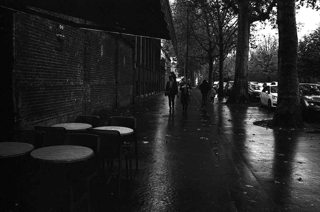 Photo trop sombre. Ilford HP5