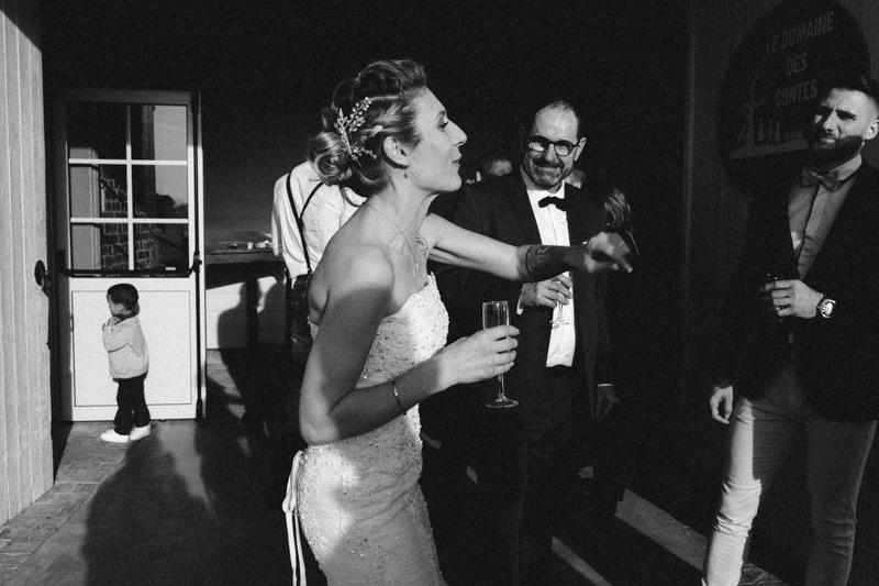 Les photos de mariages dans le Nord en noir et blanc
