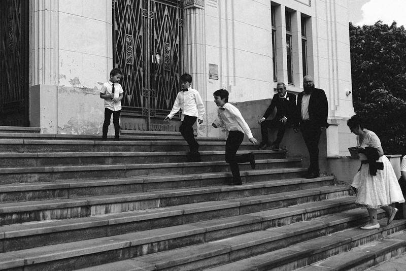 Photographies en noir et blanc pour sujets en mouvements
